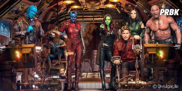 """Em """"Guardiões da Galáxia Vol. 3"""" além dos membros originais, teremos a entrada de Thor (Chris Hemsworth) como novo integrante"""