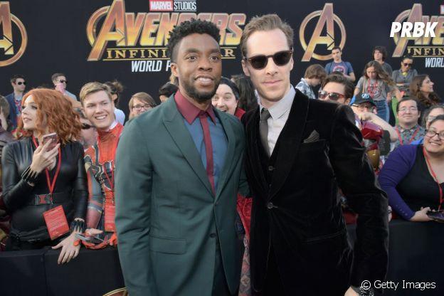 """Novos filmes de """"Doutor Estranho"""" (Benedict Cumberbatch) e """"Pantera Negra"""" (Chadwick Boseman) já estão confirmados"""