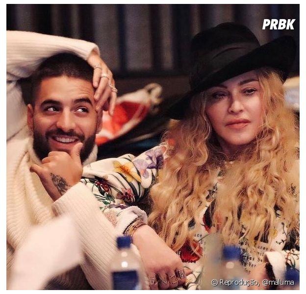 """Madonna e Maluma: cantor divulga trecho de """"Soltera"""", nova parceria da dupla"""