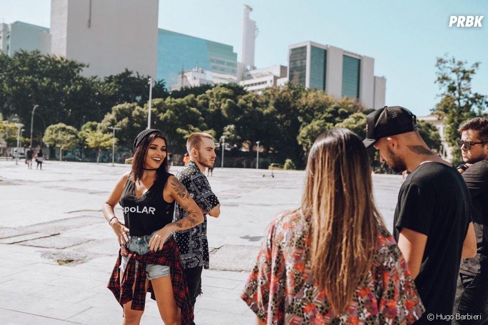 """Lary e Dreicon: clipe de """"Montanha-Russa"""" foi gravado no Rio de Janeiro"""