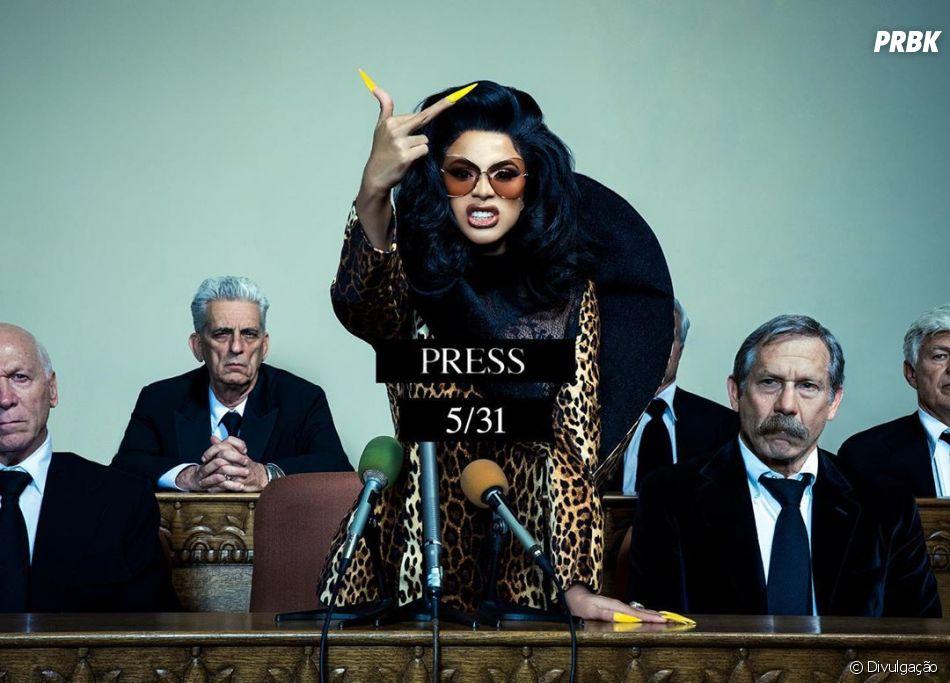 "Cardi B está de música nova! Confira ""Press"""