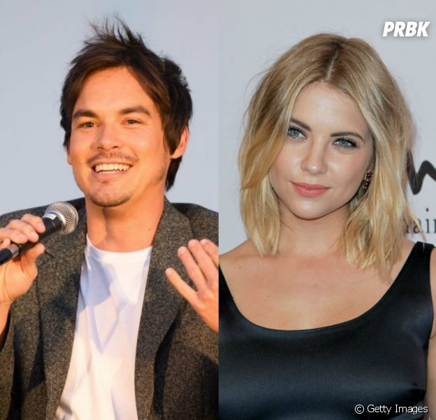 "De ""Pretty Little Liars"", Tyler Blackburn e Ashley Benson ficavam na época da série"