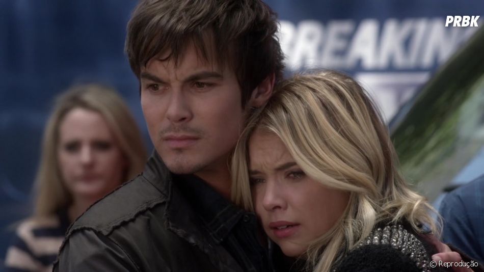 "Tyler Blackburn, de ""Pretty Little Liars"", fala sobre relacionamento com Ashley Benson e bissexualidade"