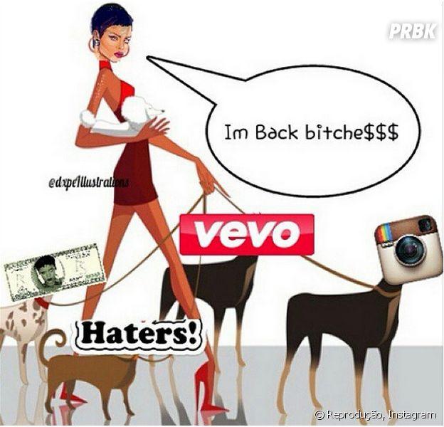 Rihanna está de volta ao Instagram