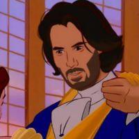 Esta artista resolveu desenhar todos os príncipes da Disney com o rosto do Keanu Reeves