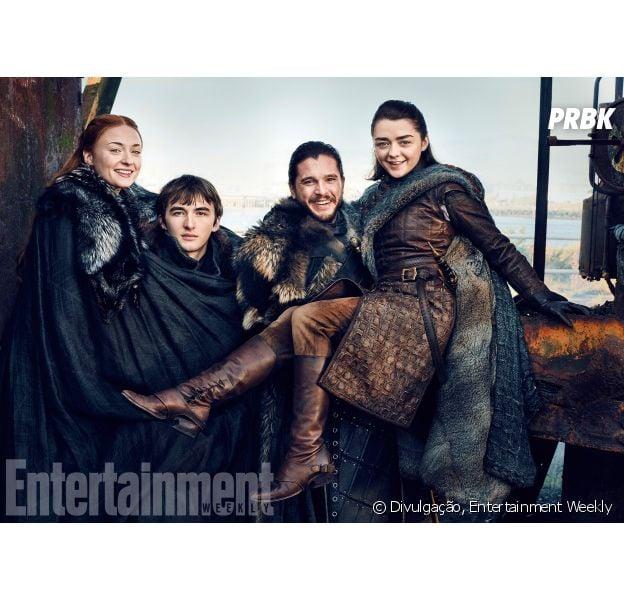 """Game of Thrones"": família Stark estará no spin-off da série"