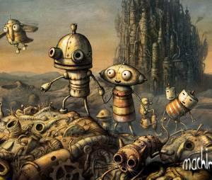 """""""Machinarium"""" te coloca na pele de um simpático robô que precisa salvar a vida de sua namorada"""