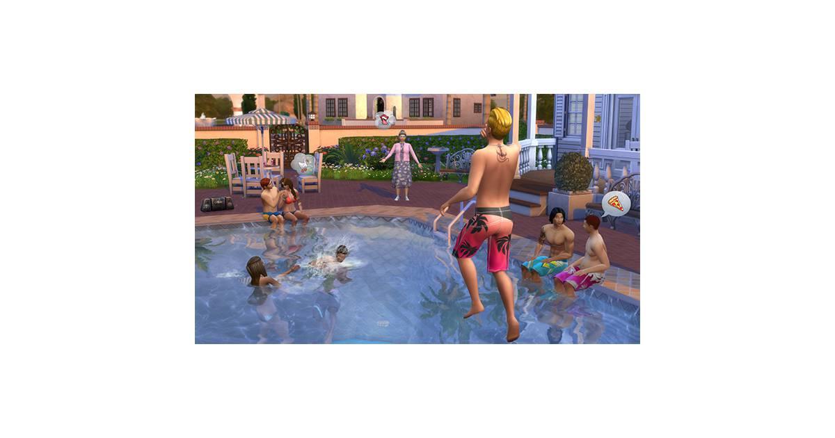 Finalmente as famosas piscinas chegaram em the sims 4 for Piscina sims 4