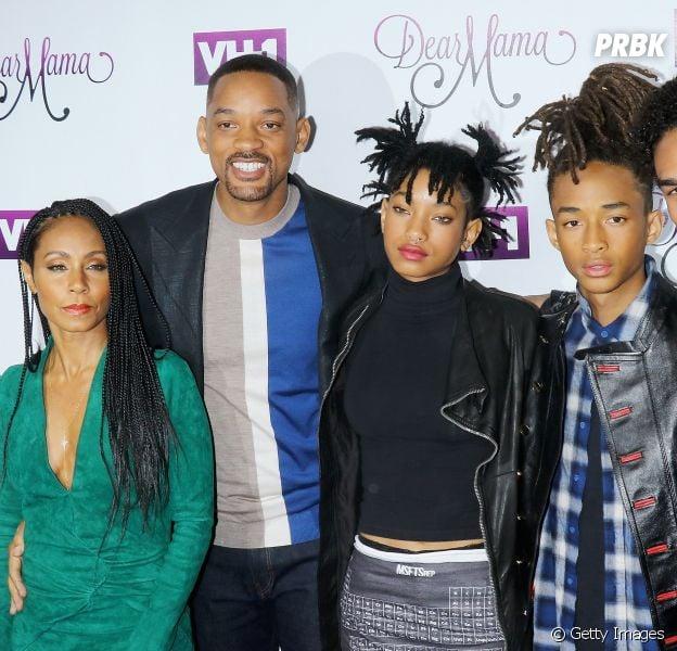 Will Smith tem dois filhos do casamento com Jada Pinkett Smith - Jaden e Willow - e de Trey (à direita), fruto do primeiro casamento