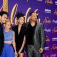"A família de Will Smith, exceto Jaden Smith, esteve na estreia de ""Aladdin"", onde ele interpreta o gênio"