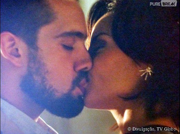 """Em """"Império"""", Vicente (Rafael Cardoso) e Maria Clara (Andreia Horta) vão se beijar!"""