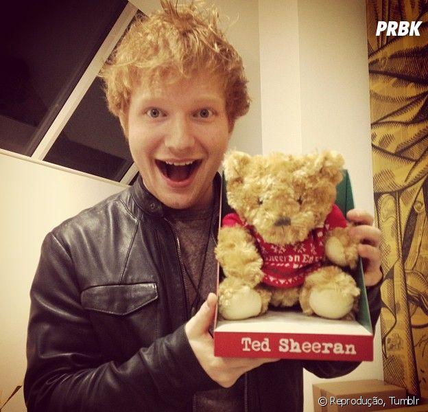 Ed Sheeran é o cantor mais fofo do mundo: Veja 5 evidências