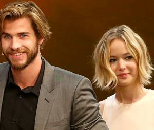 """Liam Hemsworth elogiou muito sua companheira de elenco na saga """"Jogos Vorazes"""", Jennifer Lawrence"""