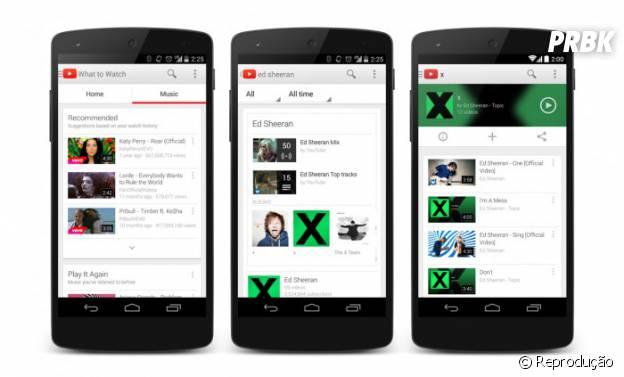 Com versão gratuita ou paga, o Youtube Music Key vai concorrer com Spotify