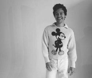 Para Harry Styles, não existe só roupa de homem ou de mulher