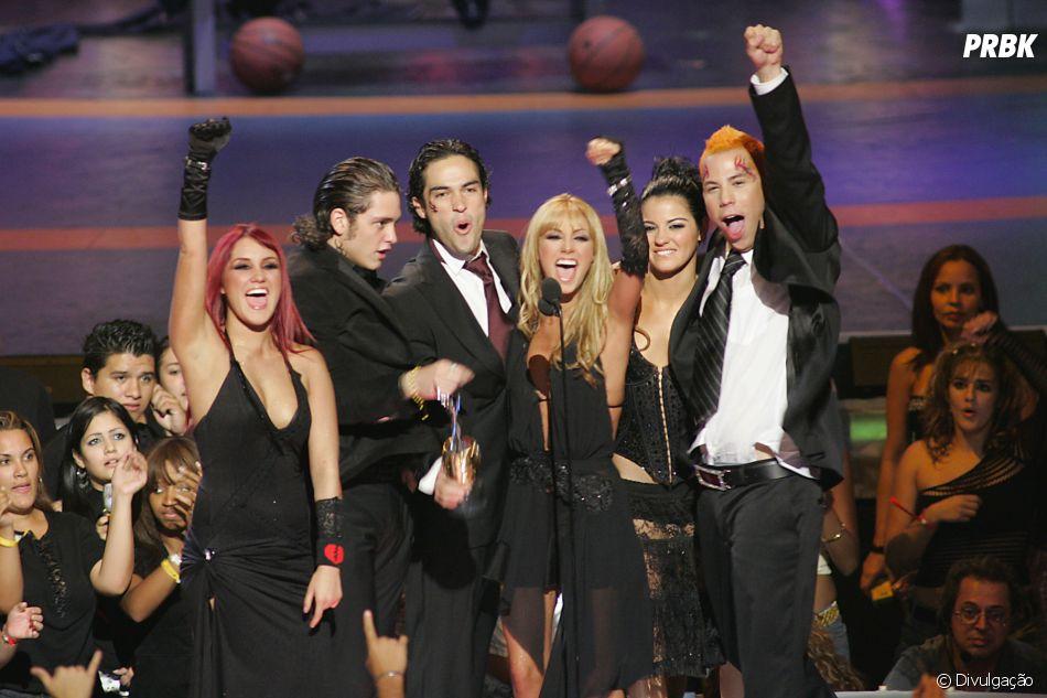 Depois de 11 anos, o rolou um encontro entre os seis integrantes do RBD em 2019