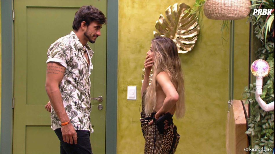 """""""BBB20"""": Guilherme e Gabi estão confusos e não sabem o que fazer com Victor Hugo"""