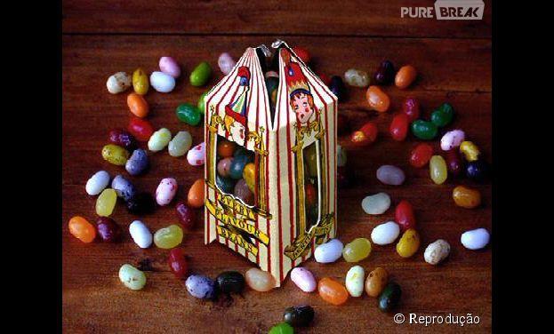 """Os feijõezinhos de todos os sabores são super famosos entre os admiradores da saga """"Harry Potter"""""""