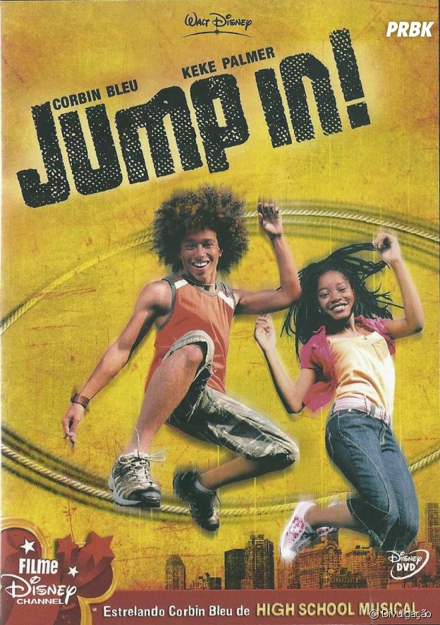 """Jump In!"" trouxe Corbin Bleu, de ""High School Musical"", e Keke Palmer para serem estrelas do Disney Channel"