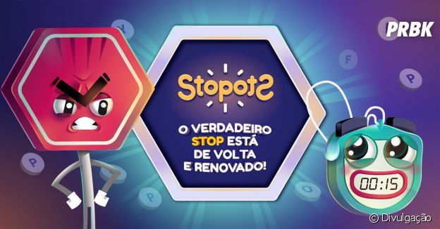 """""""Stopots"""" é um dos jogos que dá para brincar com os amigos"""