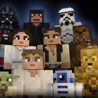 """Sai pacote de """"Minecraft"""" com tema de """"Star Wars"""". Podia ser mais perfeito?"""