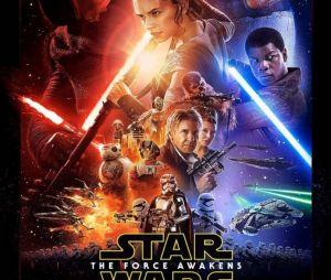 """""""Star Wars: Episódio VII - O Despertar da Força"""" marcou a volta da saga aos cinemas, em 2015, 10 anos após o lançamento do Episódio III"""