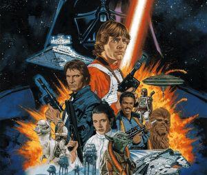 """""""Star Wars: Episódio V - O Império Contra-Ataca"""": continua a história dos irmãos Skywalker e mostra a guerra deles contra o grande vilão Darth Vader (David Prowse/James Earl Jones)"""