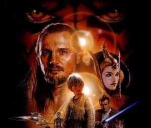 """""""Star Wars: Episódio I - A Ameaça Fantasma"""" foi o filme que abriu a história de Anakin Skywalker (Jake Lloyd) bem novinho"""