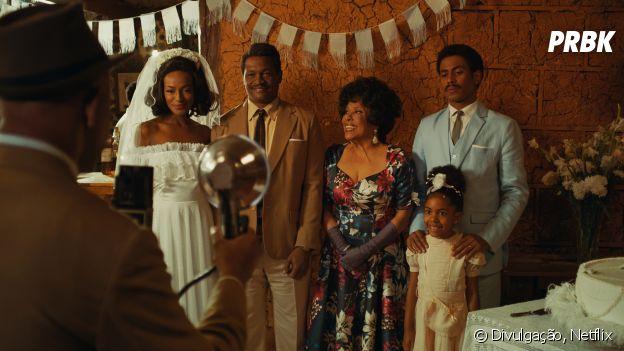 """""""Coisa Mais Linda"""": o pai de Adélia (Pathy Dejesus) e a mãe de Capitão (Ícaro Silva) serão apresentados na segunda temporada"""