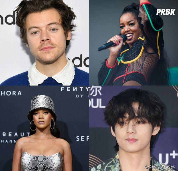 Escolha 5 famosos aleatórios para beijar na boca e diremos por quem você irá se apaixonar
