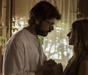 """""""La Casa de Papel"""": será que Lisboa(Itziar Ituño) e o Professor (Álvaro Morte) ficarão juntos de novo?"""