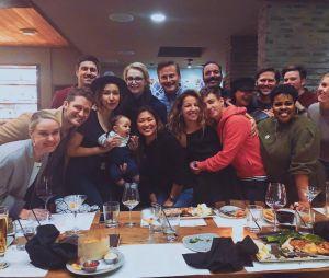 """""""Glee"""" terminou em 2015, mas o elenco e produtores da série ainda se encontram"""