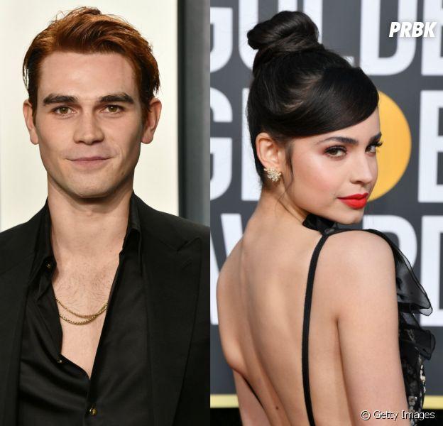 """KJ Apa, de """"Riverdale"""", e Sofia Carson, de """"Descendentes"""", farão par romântico em novo filme"""