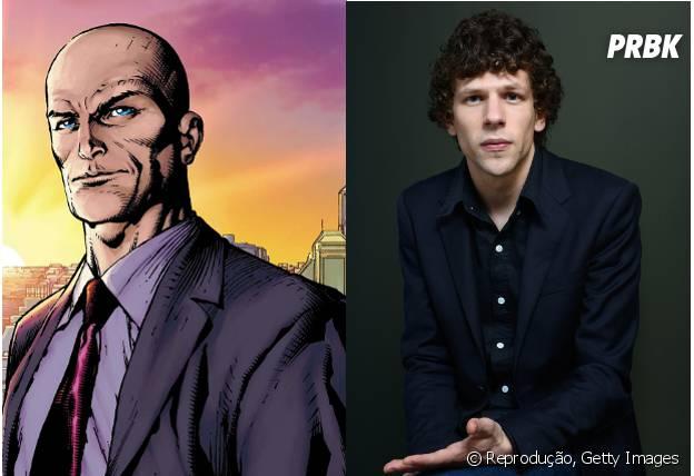 """Jesse Eisenberg pode interpretar Lex Luthor em """"Esquadrão Suicida"""""""