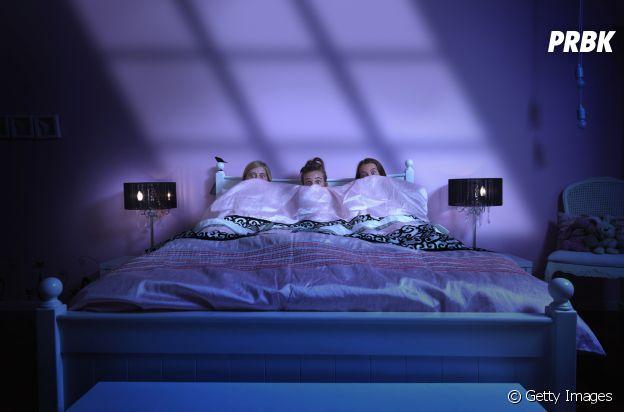Dormir tarde e não ter uma boa rotina de sono pode causar pesadelos