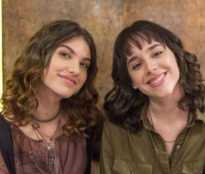 """""""Malhação"""": Lica (Manoela Aliperti) e Samantha (Giovanna Grigio) formam um dos casais mais marcantes do folhetim"""