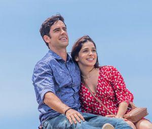 """""""Haja Coração"""": você lembra destes momentos fofos de Shirlei (Sabrina Petraglia) e Felipe (Marcos Pitombo)?"""