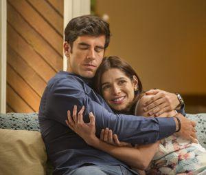 """""""Haja Coração"""": relembre a trajetória do casal Shirlei (Sabrina Petraglia) e Felipe (Marcos Pitombo)"""