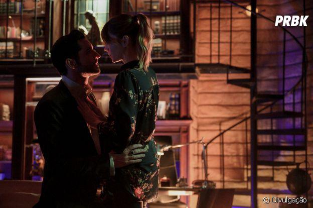 """Lucifer"": será que Lucifer (Tom Ellis) vai falar que ama Chloe (Lauren German)?"