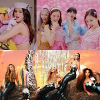 """Ice Cream"", do BLACKPINK e Selena Gomez X ""Holiday"", do Little Mix: de qual clipe você faria parte?"