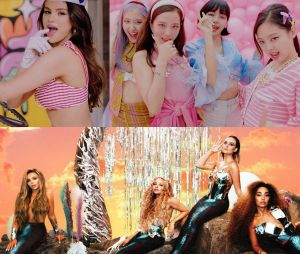 "Quiz: você faria parte do novo clipe do BLACKPINK e Selena Gomez, ""Ice Cream"", ou do Little Mix, ""Holiday""?"