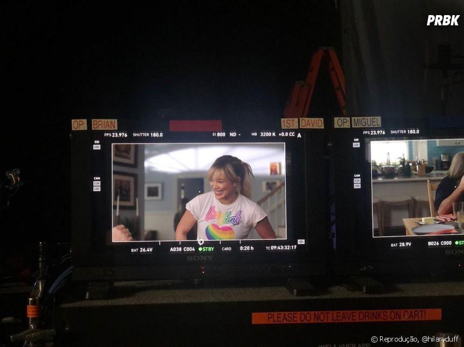 Hilary Duff ficou mais conhecida pelo papel de Lizzie McGuire na série homônima do Disney Channel