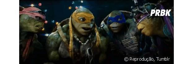 """""""As Tartarugas Ninja"""", com Megan Fox, é o filme perfeito pra te ajudar a superar o Natal"""