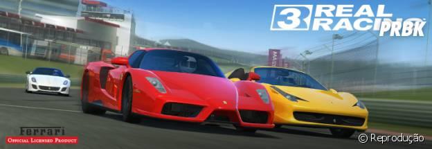 """O destaque de """"Real Racing 3"""" é o realismo de suas corridas"""