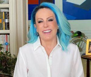 Ana Maria Braga: cabelos coloridos da apresentadora estão conquistando o público.