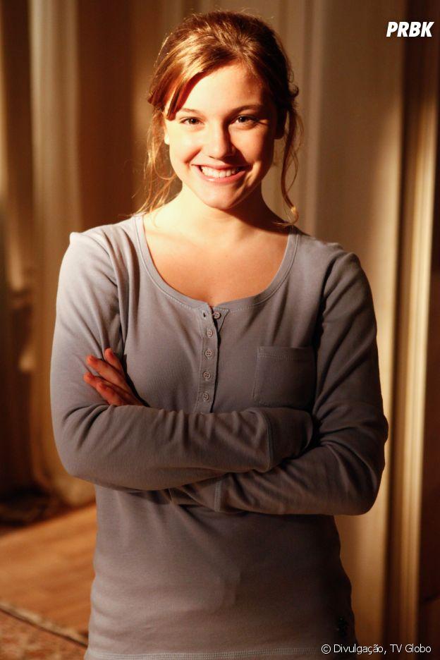 """""""A Vida da Gente"""" é a primeira novela de Alice Wegmann e sua personagem é a tenista Sofia"""