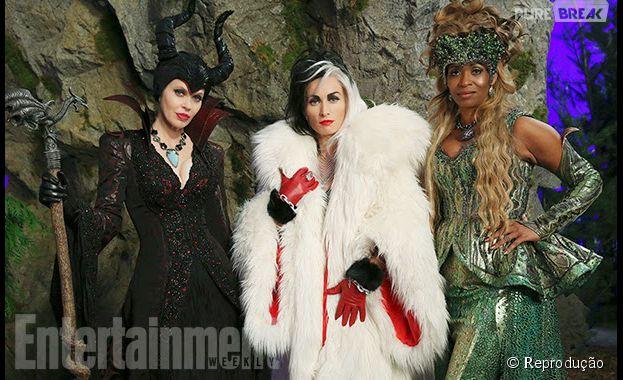 """Em """"Once Upon a Time"""", Malévola (Kristin Bauer), Cruella (Victoria Smurfit) e Ursula (Merrin Dungey) vão amedrontar todo mundo"""