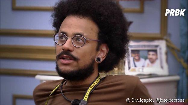 """João, do """"BBB21"""", disputa uma vaga para o Quarto Secreto na sexta semana da edição"""