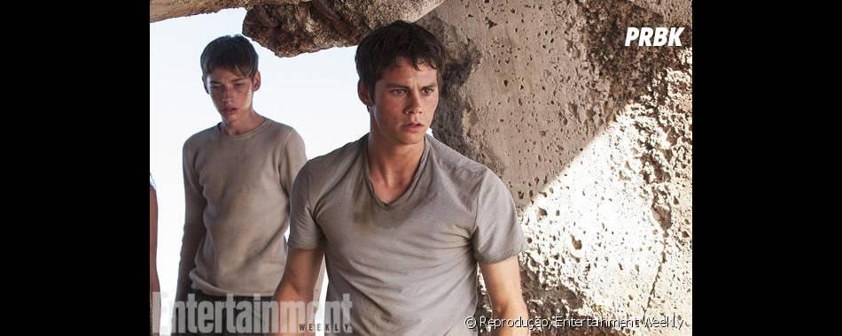 "Dylan O'Brien também protagonizou a trilogia""Maze Runner"""