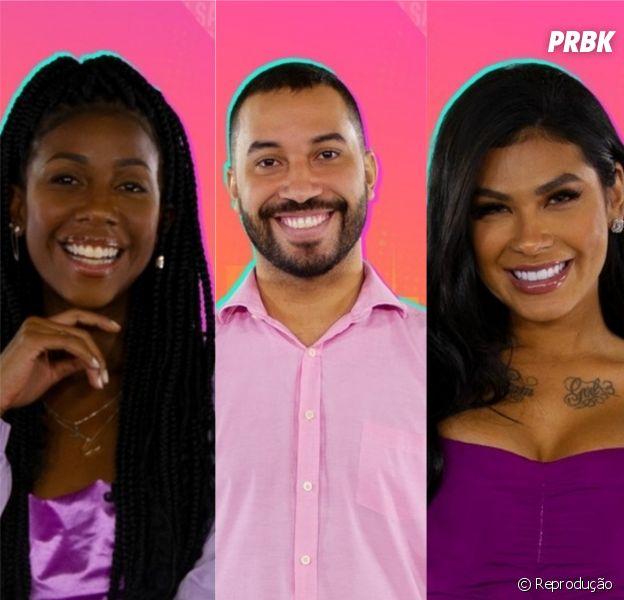 "Enquente ""BBB21"": Camilla de Lucas, Gilberto ou Pocah, quem será eliminado? Vote"